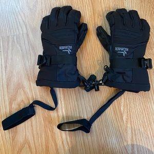 Black Kombi Waterproof Storm Cuff Gloves. Size XS